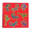 "iCanvas ""8 Lizards"" Canvas Wall Art by Willow Bascom"