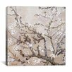 <strong>iCanvasArt</strong> 'Almond Branches' by Vincent Van Gogh Painting Print on Canvas