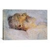 iCanvas 'Alter Mann Auf Dem Totenbett (Old Man on the Deathbed)' by Gustav Klimt Painting Print on Canvas