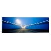 iCanvas Panoramic Cars on a Suspension Bridge, Bay Bridge, San Francisco, California Photographic Print on Canvas