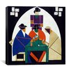 """iCanvas """"Card Players"""" Canvas Wall Art by Theo van Doesburg"""