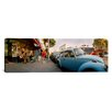 iCanvasArt Panoramic Cars Parked in front of a Store, Haight-Ashbury, San Francisco, California Photographic Print on Canvas