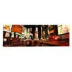 iCanvasArt Panoramic Buildings in a City, Broadway, Times Square, Midtown Manhattan, Manhattan, New York City, New York State Photographic Print on Canvas