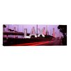 iCanvas Panoramic LAX at Dusk, Los Angeles, California Photographic Print on Canvas