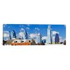 iCanvas Panoramic Buildings in a City, Chinatown Area, Comcast Center, Center City, Philadelphia, Philadelphia County, Pennsylvania Photographic Print on Canvas