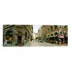 <strong>iCanvasArt</strong> Panoramic Buildings in a City, Biblioteksgatan and Master Samuelsgatan Streets, Stockholm, Sweden Photographic Print on Canvas