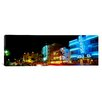 iCanvas Panoramic Art Deco Architecture Miami Beach FL Photographic Print on Canvas
