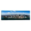 iCanvas Panoramic Aerial View of a City, Manhattan, New York City, New York State Photographic Print on Canvas