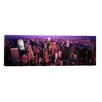 iCanvas Panoramic 'Aerial View of a City, Manhattan, New York City, New York State' Photographic Print on Canvas