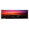 iCanvas Panoramic Aerial Los Angeles, California Photographic Print on Canvas