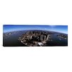 <strong>iCanvasArt</strong> Panoramic Aerial View of a City, New York City, New York State Photographic Print on Canvas