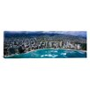 iCanvasArt Panoramic Aerial View of a City, Waikiki Beach, Honolulu, Oahu, Hawaii Photographic Print on Canvas