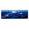 iCanvas Panoramic Aerial View of a City, Wrigley Field, Chicago, Illinois Photographic Print on Canvas