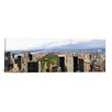 iCanvas Panoramic Aerial view of Upper Manhattan, New York City Photographic Print on Canvas