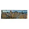 iCanvas Panoramic Buildings in a City Looking over Pacific Heights from Nob Hill, San Francisco, California 2011 Photographic Print on Canvas