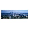 iCanvas Panoramic Aerial View of a City, Los Angeles, California Photographic Print on Canvas