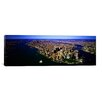 iCanvasArt Panoramic Aerial View of a City, New York City Photographic Print on Canvas