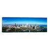 iCanvas Panoramic Aerial View of Millennium Park in Chicago, Illinois Photographic Print on Canvas