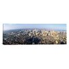 <strong>iCanvasArt</strong> Panoramic Aerial View of a City Philadelphia, Pennsylvania Photographic Print on Canvas