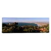 iCanvas Panoramic Aerial View of the Los Angeles Basin, California Photographic Print on Canvas