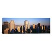 iCanvas Panoramic Afternoon Midtown Manhattan New York NY Photographic Print on Canvas