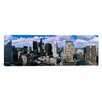 iCanvasArt Panoramic Aerial View of a River, Chicago River, Chicago, Illinois Photographic Print on Canvas