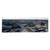 iCanvas Panoramic Aerial View of Fullerton, Lincoln and Halsted Avenues, Chicago, Illinois Photographic Print on Canvas