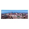 iCanvas Panoramic 'Aerial View of Jacobs Field Cleveland, Ohio' Photographic Print on Canvas