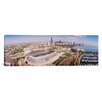 iCanvas Panoramic Aerial View of a Stadium, Soldier Field, Chicago, Illinois Photographic Print on Canvas