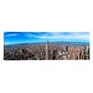 iCanvas Panoramic Aerial View of New York 2012 Photographic Print on Canvas