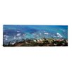 iCanvasArt Panoramic Aerial View of the Pacific Ocean, Ocean Villas, Honolulu, Oahu, Hawaii Photographic Print on Canvas