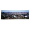 <strong>iCanvasArt</strong> Panoramic Aerial View of World's Fair Globe, New York City Photographic Print on Canvas