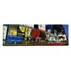 iCanvas Panoramic Billboards on Buildings in Times Square, New York Photographic Print on Canvas
