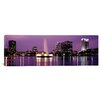 <strong>iCanvasArt</strong> Panoramic View of a City Skyline at Night Orlando, Florida Photographic Print on Canvas