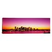 iCanvas Panoramic Sunset Boston, Massachusetts Photographic Print on Canvas