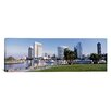 iCanvas Panoramic View of Marina Park and City Skyline, San Diego, California Photographic Print on Canvas