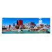 iCanvasArt Panoramic Summer Chicago, Illinois Photographic Print on Canvas