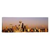iCanvas Panoramic Skyline Seattle, Washington Photographic Print on Canvas