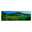 "iCanvas Panoramic Abbazia Di Sant""Antimo, Montalcino, Tuscany, Italy Photographic Print on Canvas"