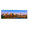 iCanvasArt Panoramic High Angle View of a City, Buffalo, New York State Photographic Print on Canvas
