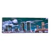 iCanvasArt Jacksonville Panoramic Skyline Cityscape Photographic Print on Canvas
