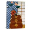 iCanvasArt 'Jasmine on Oriental Wedding Chests' by Jan Panico Graphic Art on Canvas