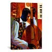 iCanvas 'Jazz' by Keith Mallett Painting Print on Canvas