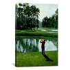 iCanvas 'Golf Course 9' by William Vanderdasson Painting Print on Canvas