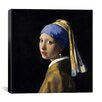 iCanvasArt 'Girl with a Pearl Earring' by Johannes Vermeer Graphic Art on Canvas
