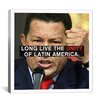 iCanvas Hugo Chavez Quote Canvas Wall Art