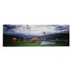 iCanvasArt Panoramic Hot Air Balloons, Snowmass, Colorado Photographic Print on Canvas
