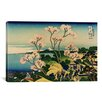 iCanvas 'Goten-yama-hill, Shinagawa on the Tokaido' by Katsushika Hokusai Painting Print on Canvas
