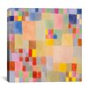 iCanvas Panoramic Flora on the Sand by Paul Klee Graphic Art on Canvas