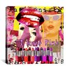 "iCanvasArt ""Girly #1"" by Luz Graphics Graphic Art on Canvas"